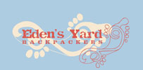 Eden's Yard Backpackers Logo